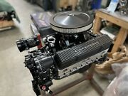383 R Stroker Crate Engine A/c 508hp Roller Turnkey Prostret Chevy Sbc Motor