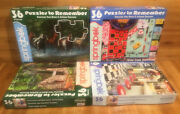 Springbok Jigsaw Puzzles Lot Of 4 X 36 Piece Puzzles To Remember