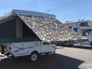 11ft Awning Camo, Pop Up Tent Trailer, Camping Trailer, Rv. By Ez Lite Campers®