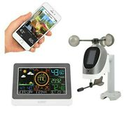 C80758 La Crosse Technology Wifi Accuweather Color Weather Station - Used