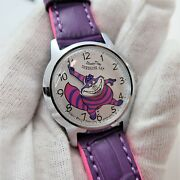 Cheshire Cat 60and039s Japan Only Seiko 5000-8000 Alice In Wonderland Disney Watch 21