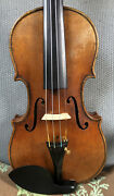 Beautiful Old Antique 4/4 Violin Labeled Andldquorobert Dollingandrdquo C. 1900