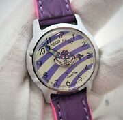 Cheshire Cat 60and039s Japan Only Seiko 5000-8000 Alice In Wonderland Disney Watch 33
