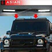 W463 Roof Light Bar With Led Drl For Mercedes-benz G-class W463 1990-2017