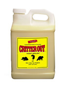 Mouse, Rat And Rodent Repellent Critter Out 1 Gallon Concentrate Makes 10