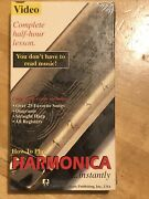 How To Play Harmonica Instantly Vhs Harmonica -sealed