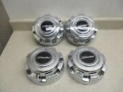 99 To 05 Ford F250sd F350sd Excursion 16 Limited Set 4 Center Hubcap Hub Caps