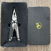 Vintage Leatherman Charge Al Multitool In The Tin Gift Box Discontinued, Rare