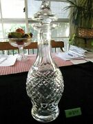 Waterford Crystal Colleen Wine Decanter, 13 1/2h Excellent Condition