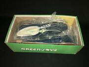 Womens Footjoy Blue Leather Saddle Golf Shoes Size 7.5 A W/ Steel Spikes