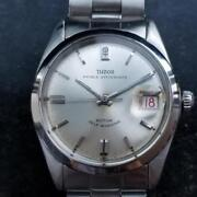 Mens Tudor Oysterdate 7996 34mm 1960s Date Automatic Swiss Vintage Lv777