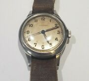 Vtg Longines Wwii Ww2 1944 Military Mens Manual Watch Cal. 23m 16 Jewels Working