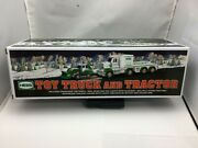 2013 Hess Toy Truck And Tractor With Lights And Sounds