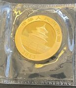 2013 Chinese Panda 500 Yuan 1ozt. .999 Gold In Sealed Ogp Low Mintage
