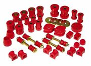 Prothane 74-78 Datsun 260z And 280z Total Suspension Bushing Inserts Kit Red