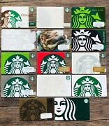 Starbucks Siren Mermaid Choose From 14 Gift Card Collections New 2010 To 2020