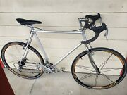 Vintage Alan Aluminum Road Bike Campagnolo Gears And Brakes 52cm