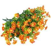 10x6 Pack Artificial Flowers For Outdoors Winter Color Resistant Boxwood Shrubs