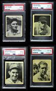 1936 Goudey Black And White Almost Complete Set 3.5 - Vg+