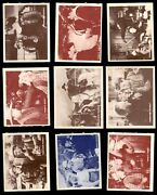 1950 Topps Hopalong Cassidy Partial Complete Set 3 - Vg