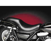 Le Pera L-868 Smooth Black Silhouette Full Seat Harley Fxr 82-94 00-99