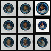 1965 Old London Coins Baseball Partial Complete Set 5 - Ex