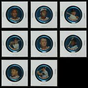 1965 Old London Coins Baseball Partial Complete Set 4.5 - Vg/ex+