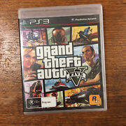 Grand Theft Auto V - Gta 5 - Brand New And Sealed Free Express Post Ps3 Game