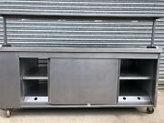 Pass Through Hotcupboard With Heated Gantry Double Doors Both Side 200cm/