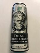 Dead Presidents High Gravity Ice 24oz Empty Beer Can-htftwd