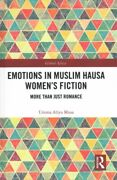 Emotions In Muslim Hausa Womenand039s Fiction More Than Just Romance Hardcover ...