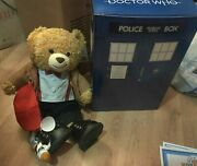 Build A Bear Dr Who 11th Doctor Plush And Clothes Set Exclusive W/tardis Box