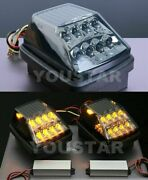 Direct Fit Smoked Black Led Turn Signal Lamps 2x For Mercedes G W463 W461 W460