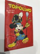 First Italian Mickey Mouse Comic N. 1 - Restored Cover April 1949