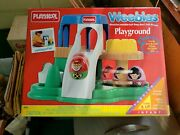 Brand New Rare 1996 Weebles Playground With Merry Go Round By Playskool 5245