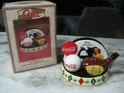 Rare Coca Cola Play Refreshed Golf Salt And Pepper Shakers Retired Item Nib