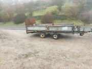 Ifor Williams Beaver Tail Trailer Plant Drop Down Sides Flat Bed