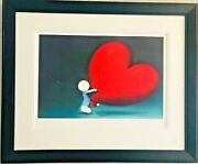 Racing Heart By Doug Hyde Painting Collectible Mint Condition