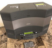 Bose Acoustic Wave Music System 2 Ii Cd Player Am/fm With 5 Multi Disc-changer