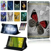 Butterfly Pu Smart Stand Case Cover For Ee Eagle /harrier Tab /jay 8inch Tablet