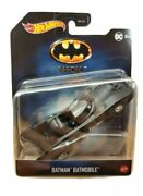 New Hot Wheels Batmobile 4 Toy Car From Batman The Movie, Collectors Series