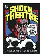 2018 Topps 80th Anniversary Cards No.104 Shock Theater 1975 Art Free Ship