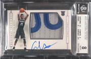 Caris Levert 2016-17 National Treasures Rpa Sick Patch Bgs 8 With 10 Auto