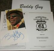 Buddy Guy /autographed Photo And Photos/- Collectable By Far