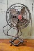 Vintage Wizard Steering Column Car Truck Dash Fan Gm Accessory 1930and039s-40and039s Works