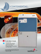 Continental C96 2 Stage Variable Ecm 96. Afue High Efficient Furnace