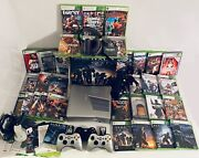 Xbox 360 S Halo Reach Limited Edition Complete Bundle Box Manuals And 34 Games🔥