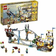 Lego 31084 Creator 3in1 Pirate Roller Coaster 923 Pieces With 4 Mini Figures