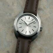 Oldinter Silver Dial Ladies Antique Watch Rare Used
