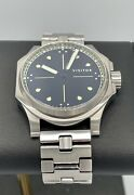 Visitor Watch Co Vale Park Officer Vpo4 Automatic 41mm Hunter Case Sold Out